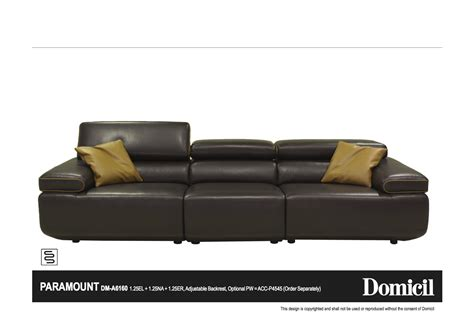 domicil leather sofa domicil sofa refil sofa