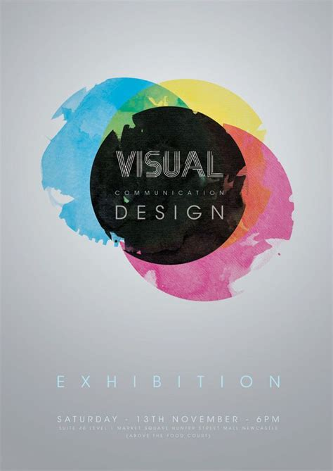 visual communication design introduction visual communication design poster on behance visual