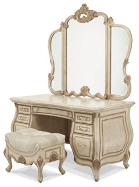 victorian bedroom vanity aico michael amini aico michael amini platine de royale