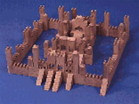 building block castle woodworking plan woodworkersworkshop