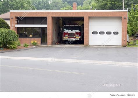 image  small fire station