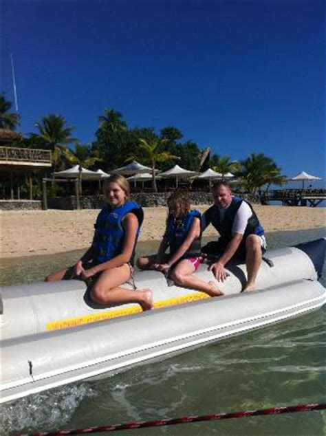 banana boat ride australia banana boat ride picture of castaway island fiji