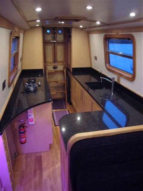 Cool Boat Interiors by 35 Best Images About Narrow Boat Ideas On