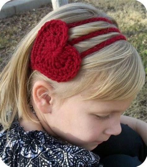 crochet headband pdf pattern valentines day creative crochet pdf