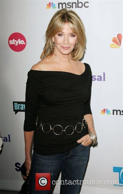days of our lives hairdo today deidre hall nbc press tour party held at the bazaar at