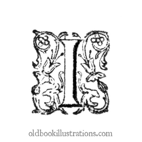 letter of inquiry initial letter i book illustrations 1400