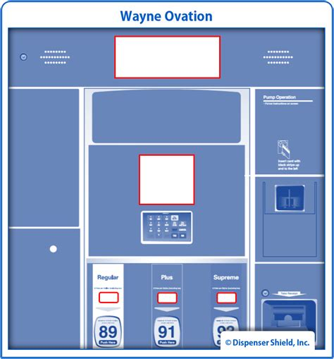 Dresser Wayne Ab by Dresser Wayne Dispenser Shield Vandal Uv Screen