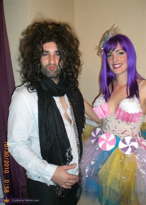 katy perry  russell brand couples costume photo