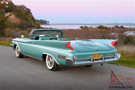 1960 Chrysler New Yorker For Sale by Chrysler New Yorker 2 Door Convertible