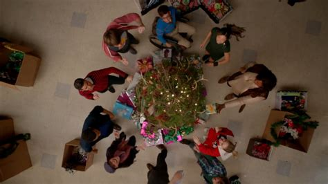 rockin around the christmas tree glee wiki