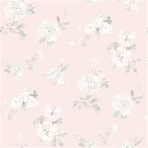 Aqua Colored Home Decor Captiva Light Pink Floral Toss Wallpaper Farmhouse