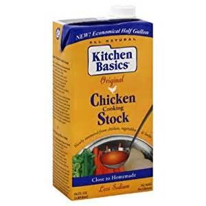 kitchen basics chicken stock 64 ounce pack