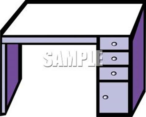 Computer Desk Clipart A Metal Computer Desk Royalty Free Clipart Picture