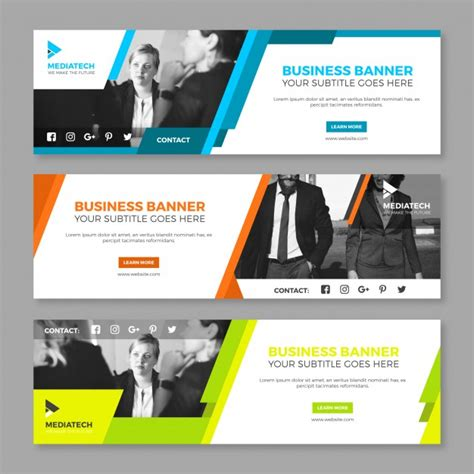 layout banner web web banner vectors photos and psd files free download