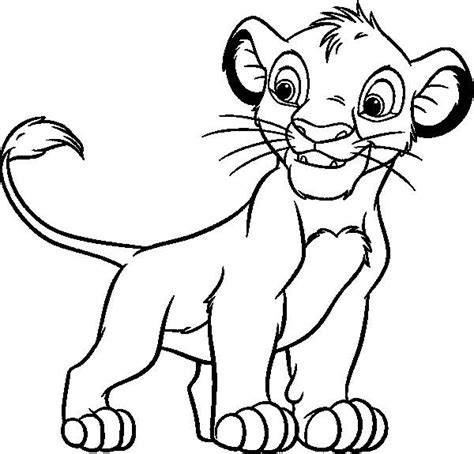 coloring pages of lion cubs lion cub coloring pages sketch coloring page