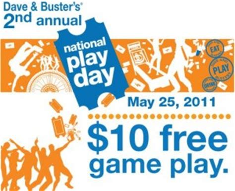 Where Can I Buy Dave And Busters Gift Cards - dave buster s national play day 25 gift card 10 power play card giveaway