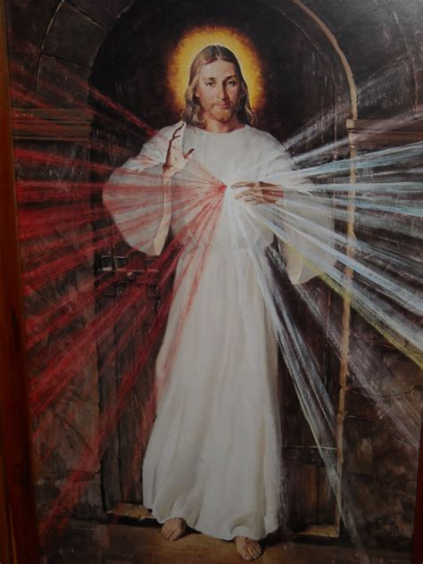Things Every Home Needs by Harbor Star Reflections The Divine Mercy Image