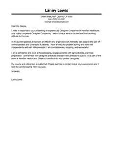 how to start a great cover letter leading professional caregivers companions cover letter