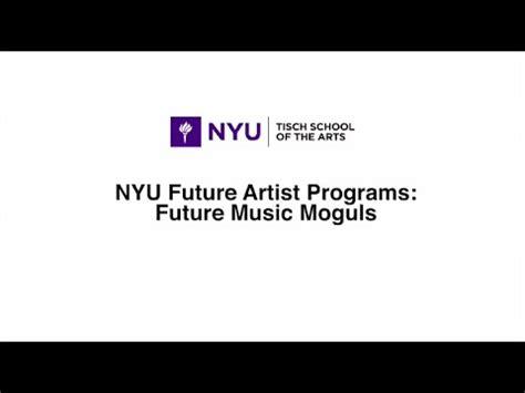 tisch future artists future music moguls workshop at nyu tisch school of the