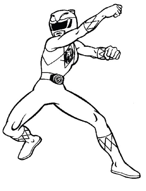 red power ranger coloring mask coloring pages