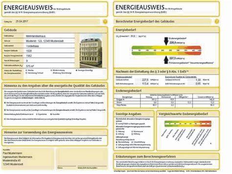 energiepass wohnung energieausweis