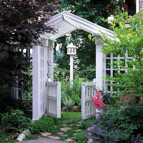 Gate Pergola Designs by Project Plan 504876 Gate Arbor And Trellis