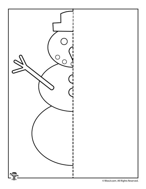 kindergarten activities drawing winter snowman finish the picture drawing activity woo