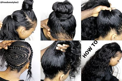 how do you do a quick weave sew on tinning edges how to do natural looking sewin weave very natural