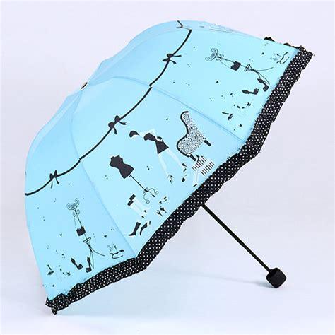 new pattern umbrella beautiful girl pattern umbrella women fashion arched