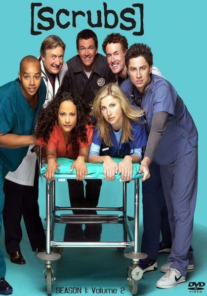 Poster Tv Series Scrubs 40x60cm scrubs 2001 poster tvposter net