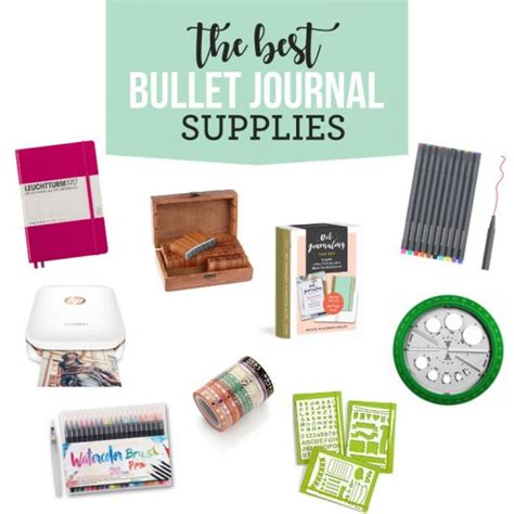 Best Bullet Journal Supplies From The Dating Di S