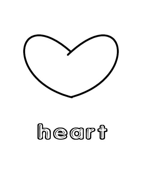 heart coloring pages preschool heart shape coloring page preschool coloring pages