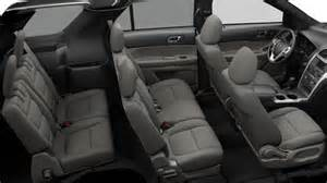 Ford Escape Seating Capacity Ford Explorer Interior Image 12