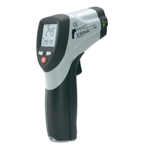 Termometer Infrared voltcraft ir 650 12d infrared thermometer 50 to 650 176 c from conrad
