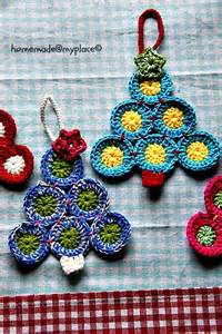 lily razz crochet christmas trees free patterns