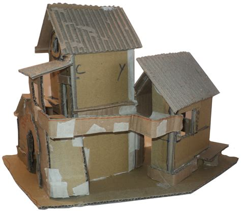 cardboard box house designs cardboard design workshop presepe village nativity house