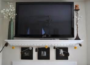 Tv Accessories Wall Shelf by Shelf Wall Mounted Tv Home Ideas