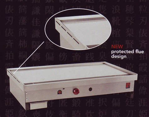 Outdoor Cooktop Propane Teppanyaki Griddles For Japanese Teppan Yaki Grill Cooking