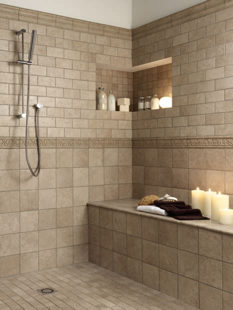 Pictures Of Tiled Showers And Bathrooms Bathroom Tile Patterns Country Home Design Ideas