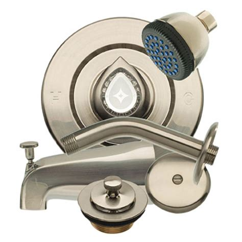 bathtub trim kits tub shower trim kit for moen in brushed nickeldanco 100564809