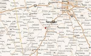 newnan map newnan location guide