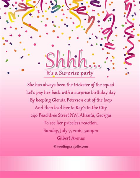 wording ideas for birthday invitations birthday invitation wording wordings and