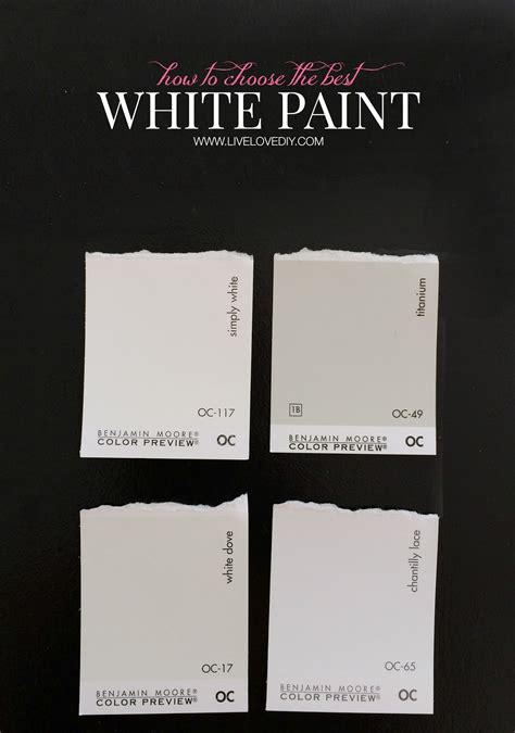 How To Choose White Paint | how to choose a paint color 10 tips to help you decide