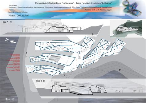 tavole tesi architettura graduation thesis in architecture prof antonino saggio