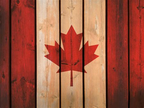 Canada Flag Background Tutorial