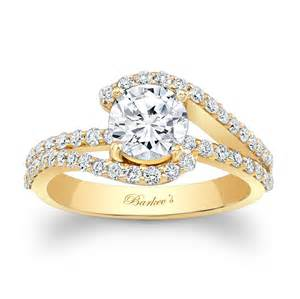 Barkev S Yellow Gold Engagement Ring 7848ly Diamond Wedding Rings For Women Cheap
