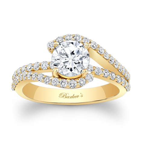 barkev s yellow gold engagement ring 7848ly barkev s