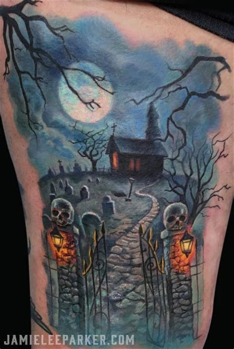 40 tatouages incontournables pour halloween temporary