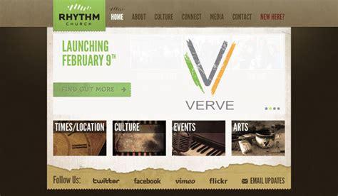 best church websites 60 of the best church website designs