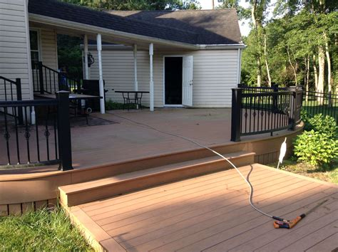 deck cleaner deck restoration pvc wood